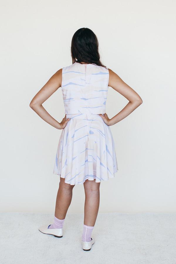Samantha Pleet Strata Dress   Landscape