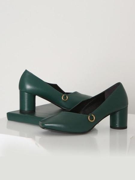 Avec Movement 17002P Heels - Green
