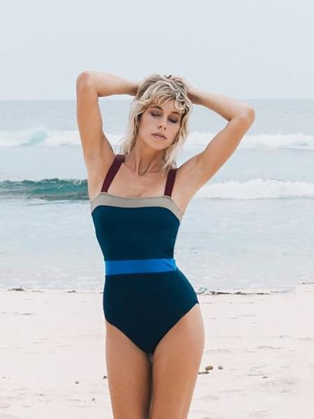 DAZE DAYZ Retro Block One Piece Swimsuit - Navy