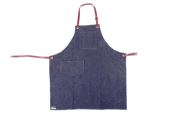 Union Wood Co. Shop Apron - Blue Denim