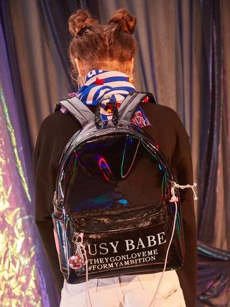 ENTRE REVES Busy Babe In Midnight Backpack