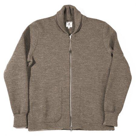 Arpenteur Roscoff Milano Wool Zip Sweater - Beige