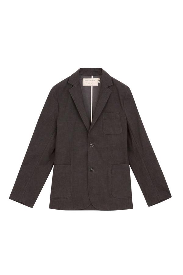 Men's Kitsune Colored Denim Blazer