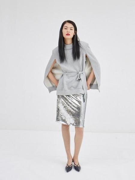 Happening Sequin Skirt - Silver