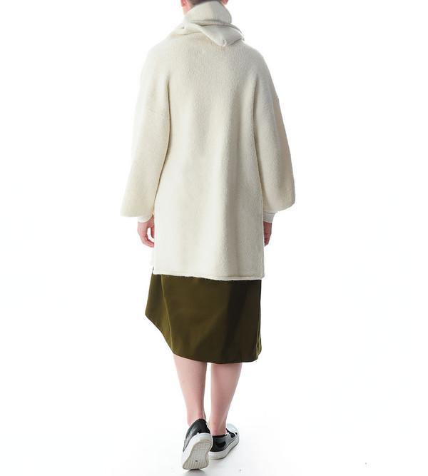 Lauren Manoogian Capote Coat | White