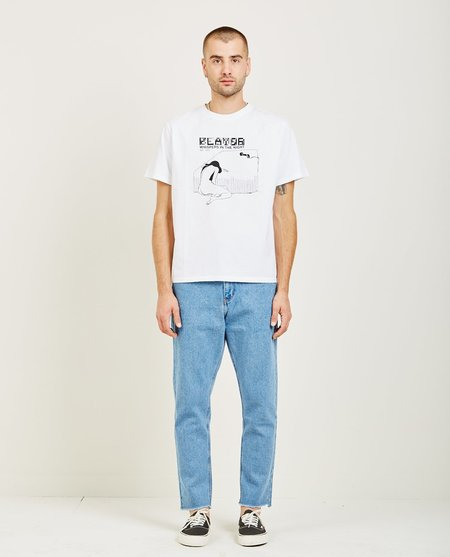 SECOND/LAYER WHISPERS IN THE NIGHT TEE - WHITE