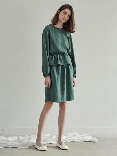 CHUNGPEPE Wrap Dress - Green