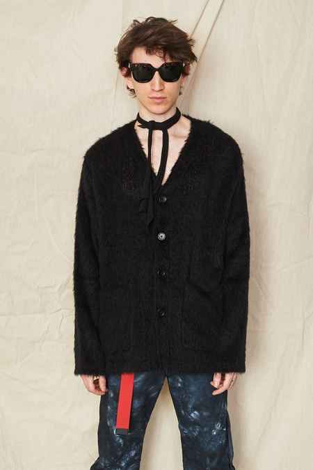 Our Legacy Mohair Cardigan - Black