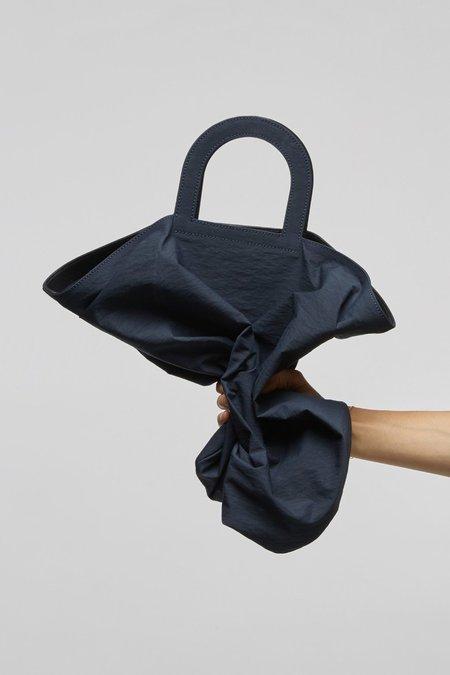Building Block Stencil Crinkle Bag - Navy