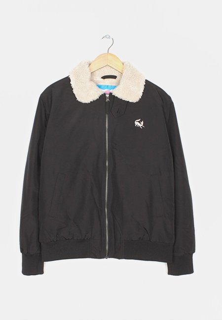 BY PARRA Scared Fox Topper Jacket - black