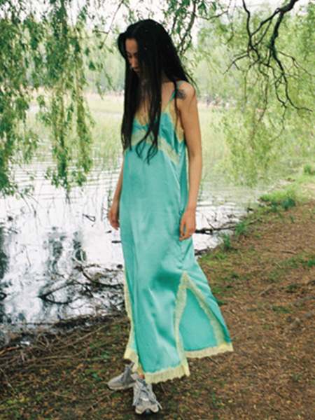 Melt Breeze Dress - Jade