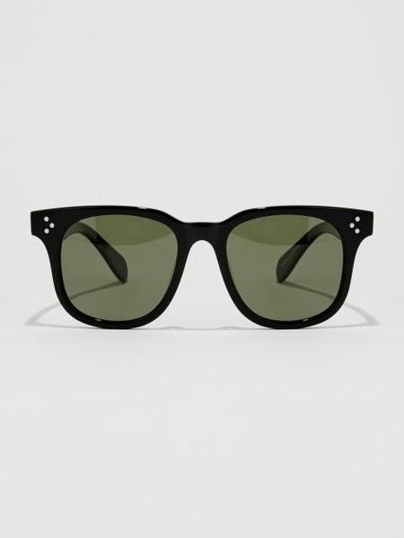 Unisex BVH Square Sunglasses - Black/Green