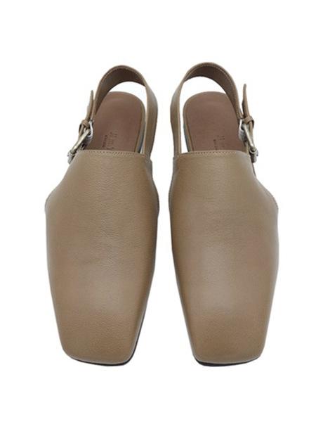 JI LLL. Y Youth Flat Shoes - Camel