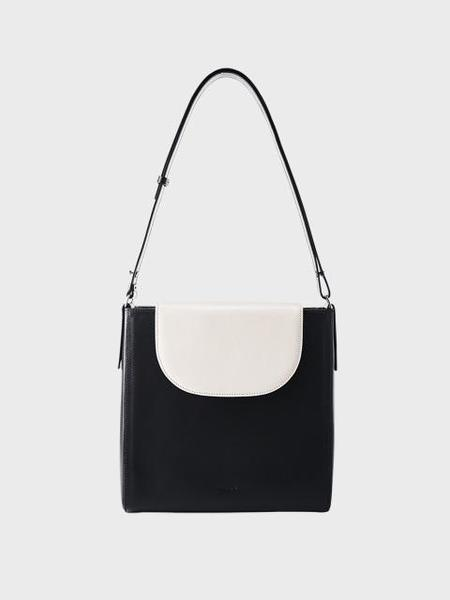 ELBATEGEV Elba Bag - Black Currant/Pale Stone