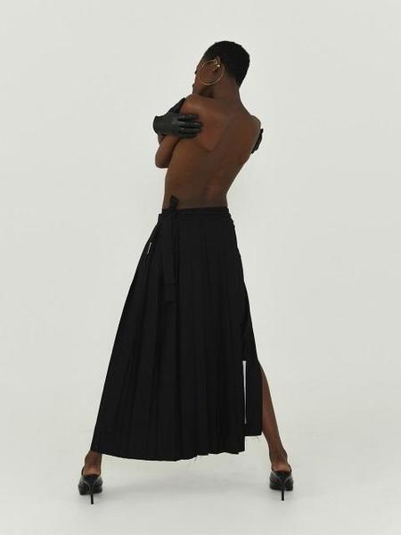 BADTASTE Kendo Skirt - Black