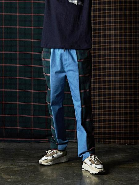 DBSW Check Pants - Blue