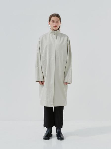Current Mod Coat - Khaki Beige