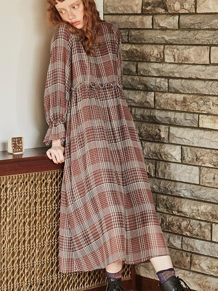 INES IN8C0101 DRESS - Pink