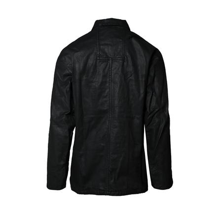 11 by Boris Bidjan Saberi J9 Waxed Jacket - Black Wash