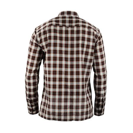 CMMN SWDN Landon Slim Fit Shirt - Brown Check
