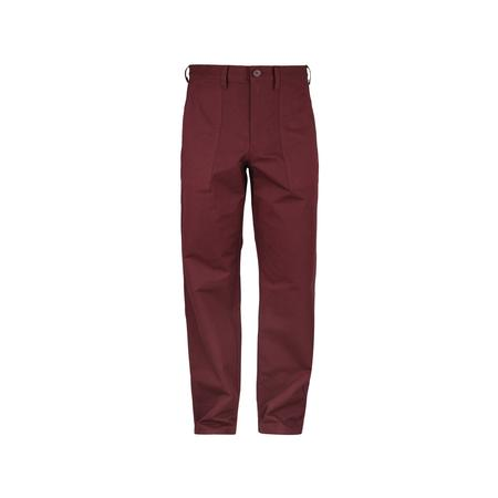JohnUNDERCOVER Relaxed Fit Trousers - Bordeaux