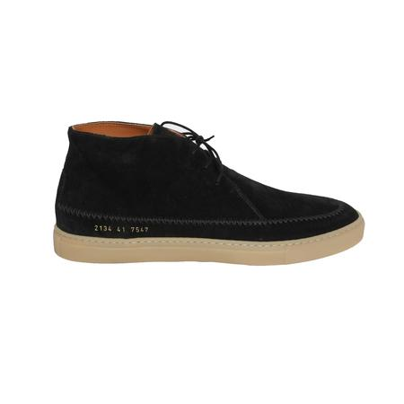Robert Geller x Common Projects Moccasins - BLACK