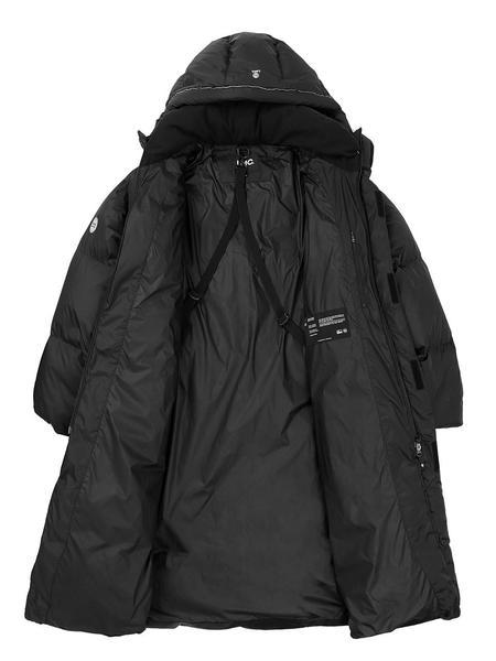 LMC Oversized Long Puffer Coat - Black