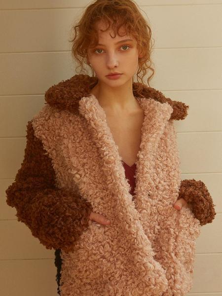 fleamadonna Triple Colored Fur Jacket - Pink
