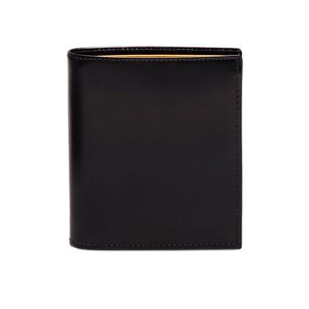 Freemans Sporting Club Ettinger Bridle Hide Mini Wallet - Black