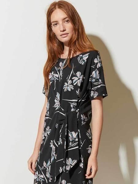 Great Plains Camilla Tie Dress - Sweet Blush Multi