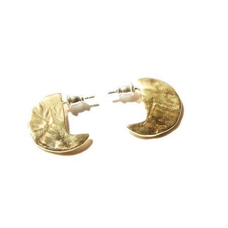 Odette New York 14K Mini Disc Earring - Gold