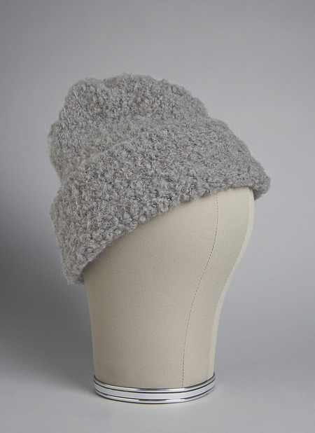 GREI The Animal Hand Loom Cozy Beanie - Grey