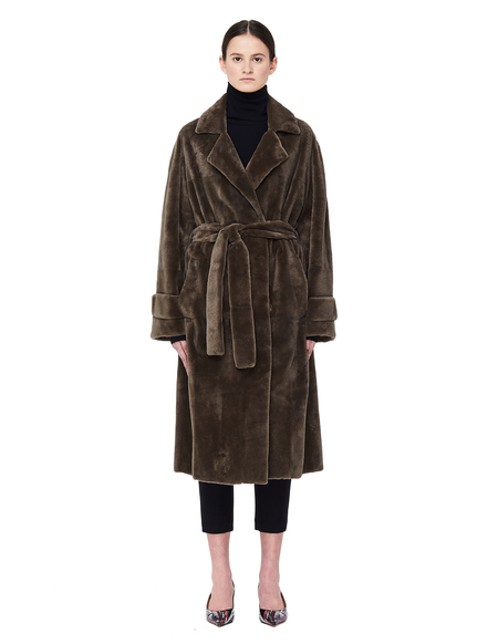 32 Paradis Magnetic Closure Mink Torrent Fur Coat