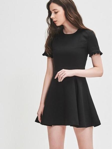 BLANC & ECLARE RTW May Mini Dress - BLACK