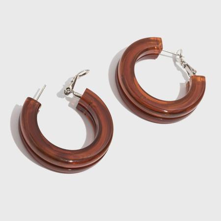 Rachel Comey Moto Earrings - Brown