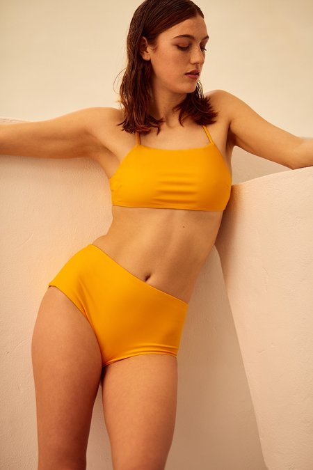 Kowtow Special Editions High Waisted Brief - Marigold