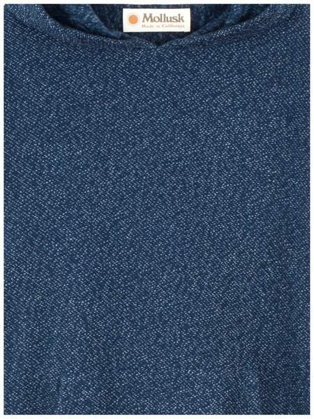 Mollusk Wave Patch Pullover - Navy Indigo