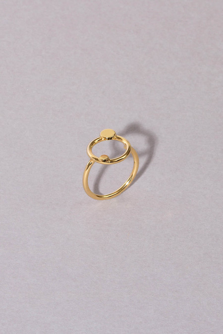 Anne Thomas Cosmos Ring - 18k GOLD FILLED