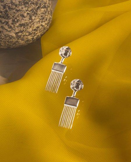 ORA-C ESMÉ Earrings - silver