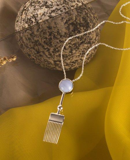 ORA-C Zoran Necklace - Silver