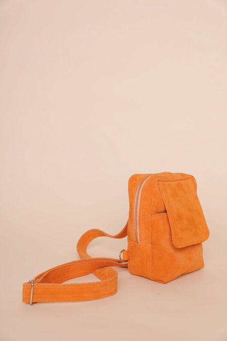 Clyde Chest Pouch - Persimmon