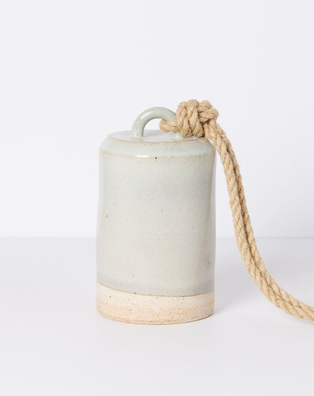 MQuan Studio Medium Tall Thrown Bell - Temple White
