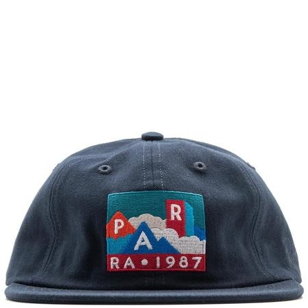 ea4ad1cbf25 by Parra Mountains of 1987 6 Panel Hat - Navy Blue ...