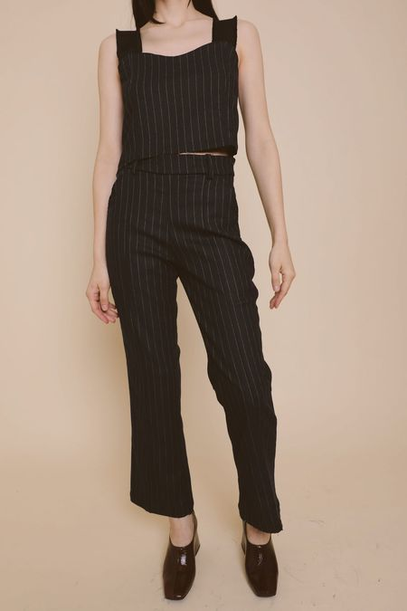 Suzanne Rae Flare Leg Trouser - Black