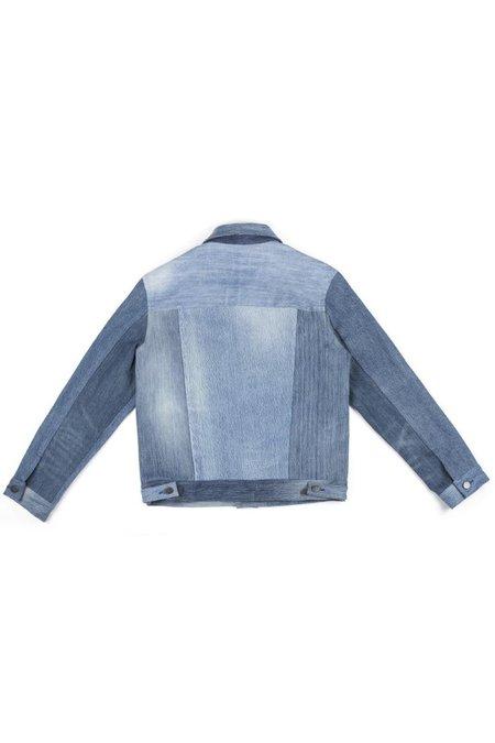 Triarchy Denim Motor Jacket - Indigo