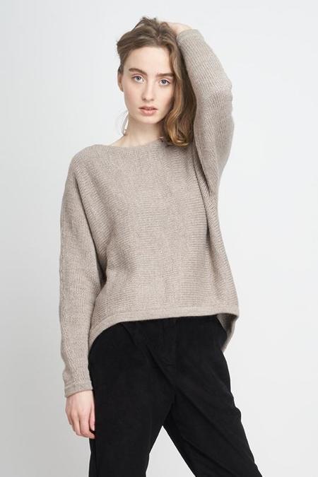 Jungle Folk Nieve Knit Sweater - Sand