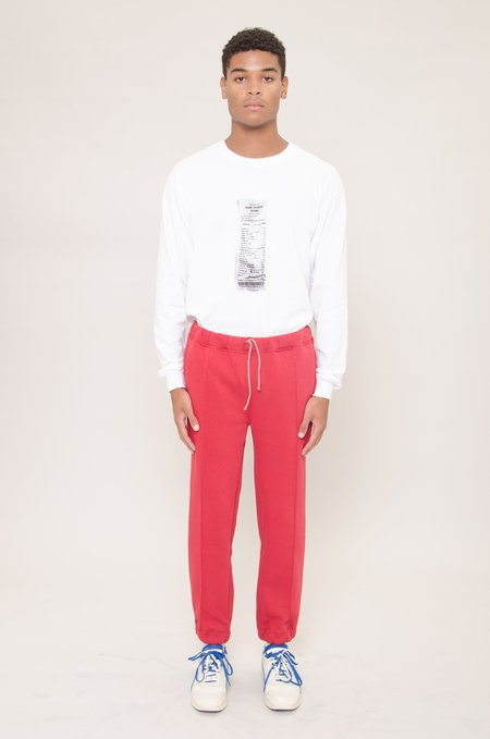 North Hill Fleece Jogger Pants - Red