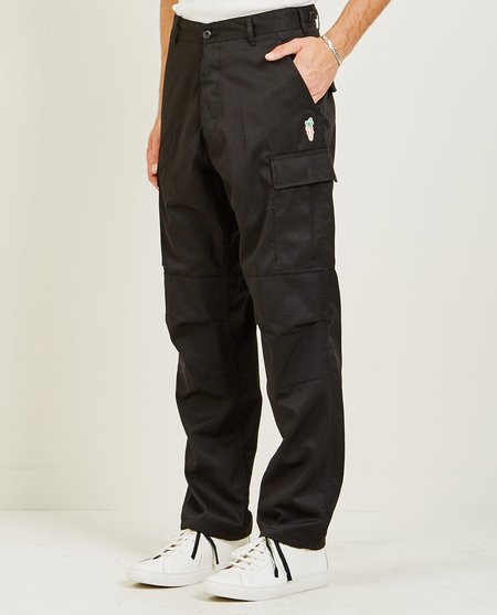 CARROTS BY ANWAR CARROTS WORD MARK CARGO PANT - Black