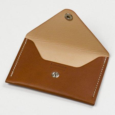 Laperruque Envelope Cardholder - Gold Baranil