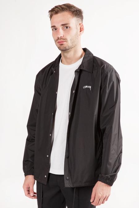 Stüssy Cruize Coach Logo Jacket - Black